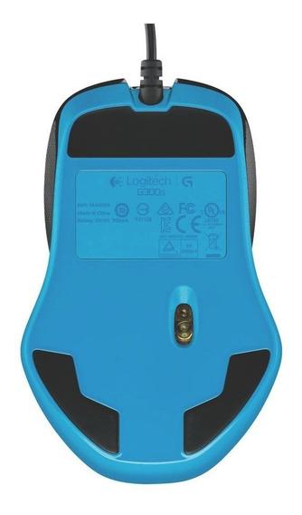 Mouse Gamer Usb Logitech G300s 2500dpi 9 Botões