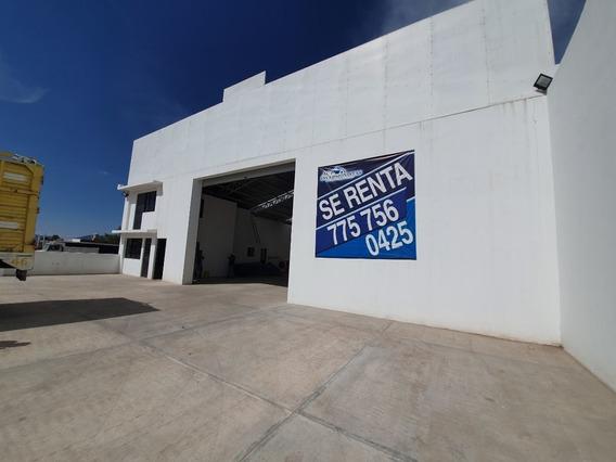 Bodega O Nave En Renta Apan Hidalgo, Con Oficinas.