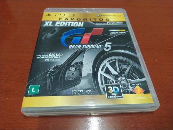 Gran Turismo 5 Xl Playstation 3 Mídia Física