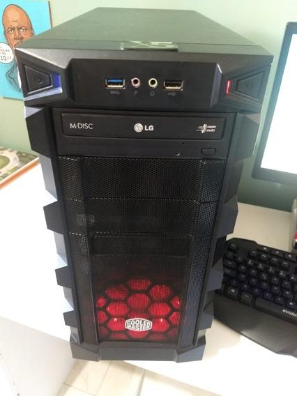 Pc Gamer Cooler Master Fx 6300 8gb Hd500 Vídeo 2gb Gigabyte
