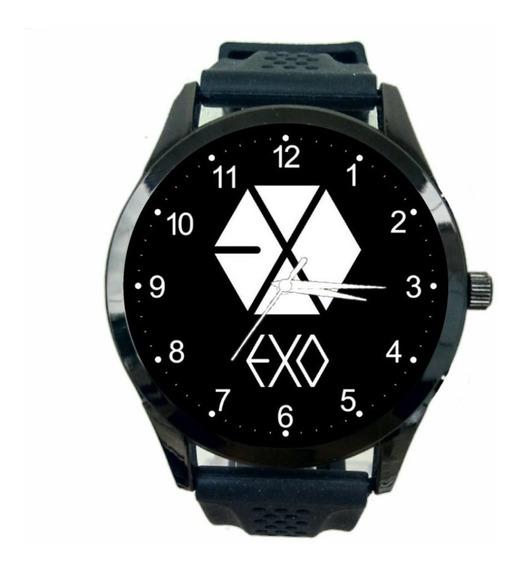 Relógio Exo K Pop Feminino Exo-l Banda Novidade Novo Fc T786