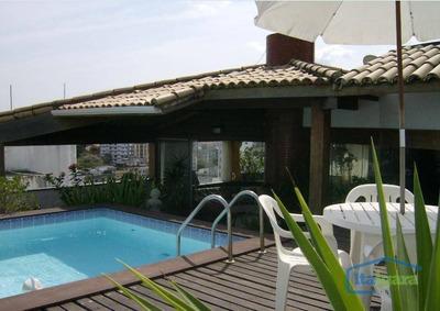 Cobertura Com 4 Dormitórios À Venda, 240 M² Por R$ 690.000 - Rio Vermelho - Salvador/ba - Co0032