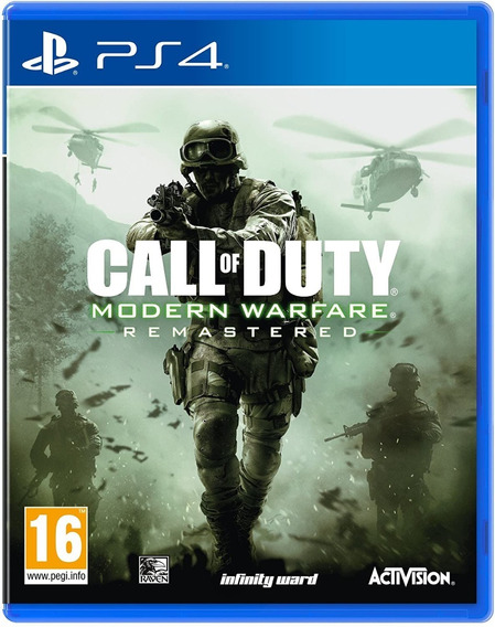 Call Of Duty Modern Warfare Remastered Ps4 Mídia Digital