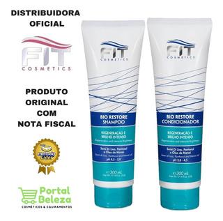 Kit Shampoo E Condicionador Bio Restore Fit Cosmetics