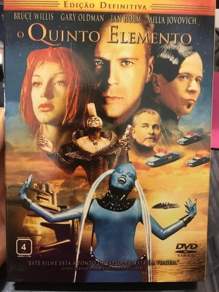 Filme O Quinto Elemento Edição Definitiva Dvd Duplo