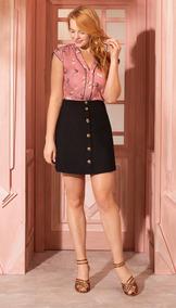 Antix Blusa Porquinha Dançarina Rosa Com Tag R4685