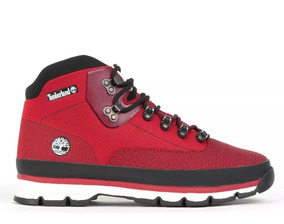 Bota Timberland Tbl Euro Hiker Jacquard Red - Original Promo