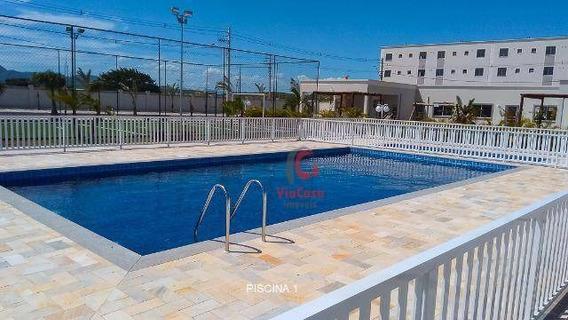 Apartamento 2 Quartos, Com Área De Lazer, Atlântica - Rio Das Ostras/ Rj - Ap0827