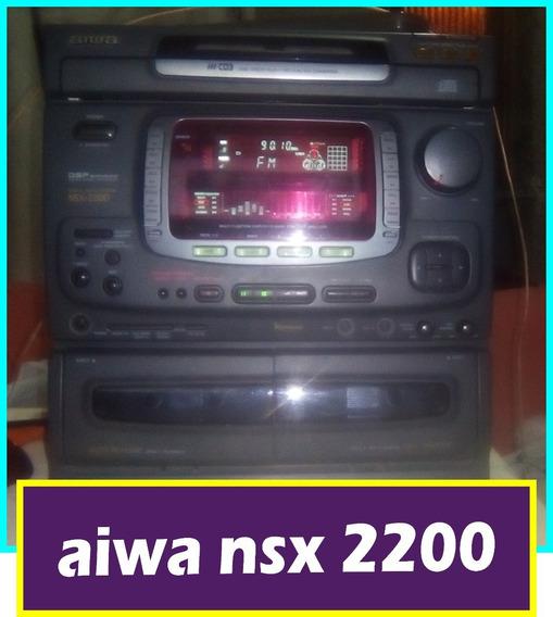 Aiwa Nsx 2200(mk2) Funcionando Parcialmente!