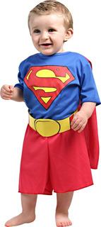 Disfraz De Batman Y Superman Para Bebe Original 1 A 3 Años