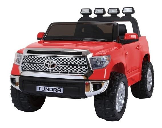 Auto Coche Bateria Toyota Hilux 12v Lic Of. Doble Asiento