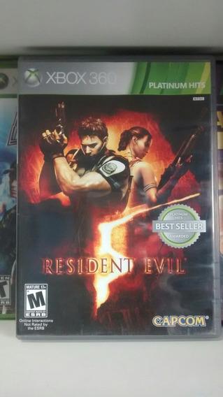 Jogo Para Xbox 360: Resident Evil 5. Com Frete Grátis!