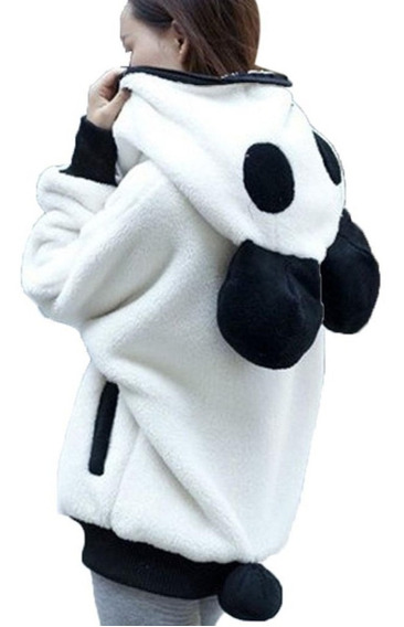 Sudadera Panda Capucha Oso Hoddie Sueter Kawaii Unisex E Gra