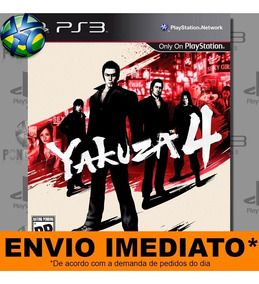Jogo Yakuza 4 - Promoção Pronta Entrega Ps3 | Digital