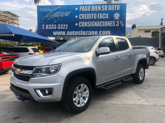 Chevrolet Colorado Lt 4x4 Dob Cab 2017