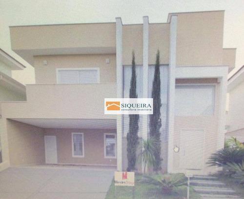 Casa Com 3 Dormitórios À Venda, 294 M² - Condomínio Mont Blanc - Sorocaba/sp - Ca0069