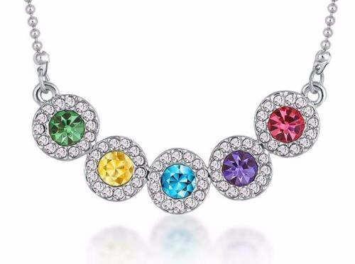 Collar Fantasy Colors Cristal Multicolor