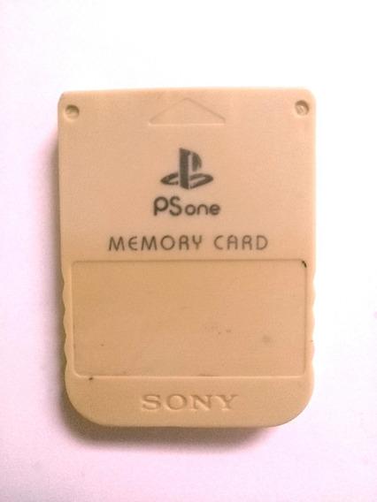 Playstation 1 - Memory Card Cinza Psone B