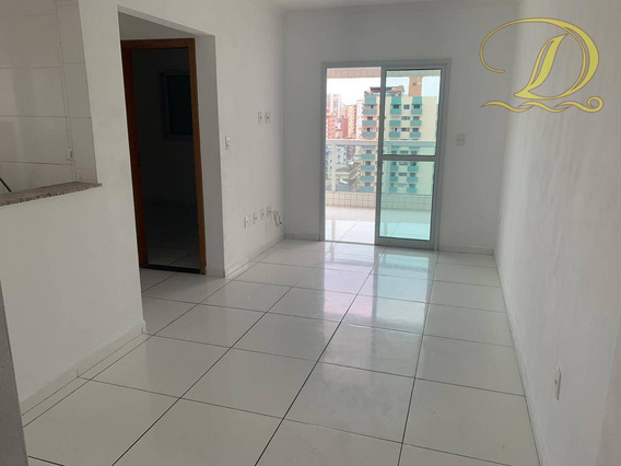 Apartamento Novo Com 1 Dormitório À Venda Na Tupi - Praia Grande!!! - Ap2726