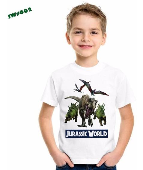 Franelas De Jurassic World Sublimadas/ Estampadas