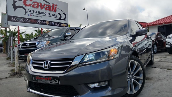 Honda Accord Lx Gris 2013