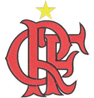 Matriz De Bordado Letras Clube De Regatas Do Flamengo