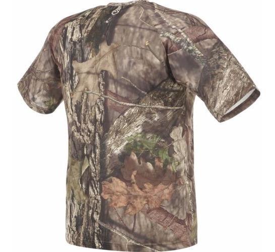 Camisa Manga Corta Hombre Camo Mossy Oak Caceria Camuflaje