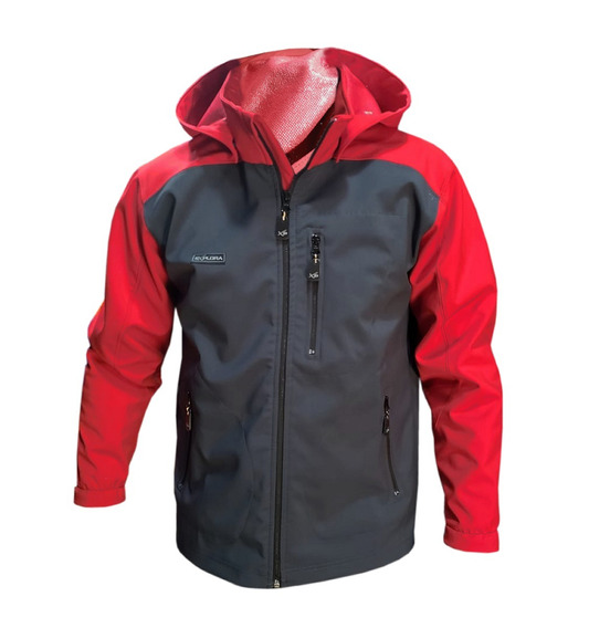 Campera Softshell Impermeable Capucha Tipo Neoprene Pagos