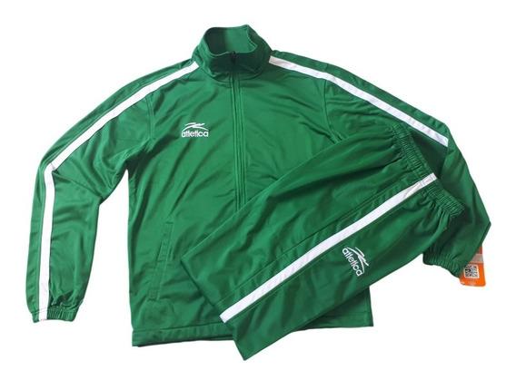 Conjunto Atletica Verde Para Hombre 141ak502