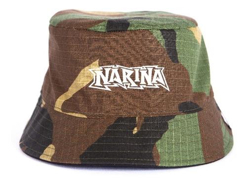 Chapeu Bucket Hat Narina Camu Dupla Face  Original P.entrega
