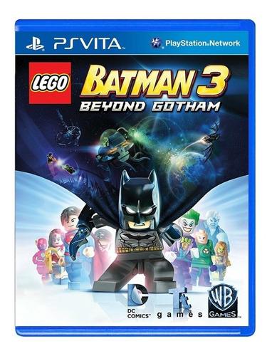 Lego Batman 3 Beyond Gotham - Ps Vita - Original - Física