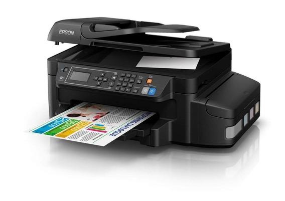 Impressora Epson L656 Bulkink Multif.c/wireless Adf E Duplex
