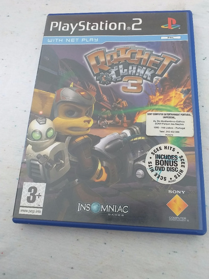 Ratchet Clank 3 Ps2 Original Campinas