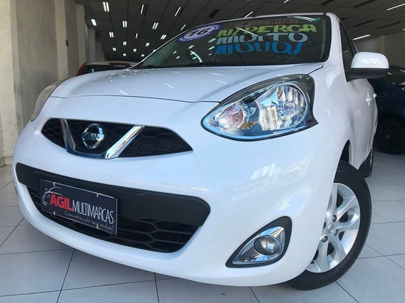 Nissan March Sv 1.6 Flex 2016 Completo Único Dono
