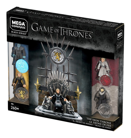 Mega Construx Game Of Thrones, Trono De Hierro
