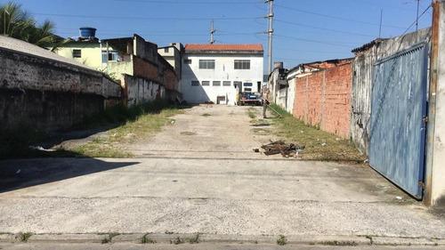 Imagem 1 de 2 de Terreno Para Alugar, 4500 M² - Paulicéia - São Bernardo Do Campo/sp - Te4230