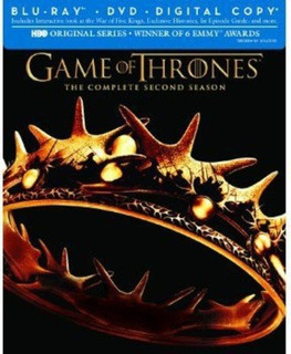 Blu Ray Game Of Thrones: Season 2 Standard Edition