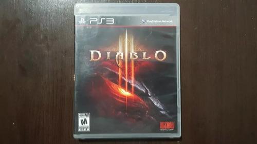 Diablo 3 Playstation 3 Ps3 Mídia Física Original