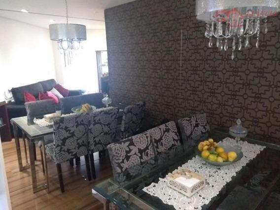 Apartamento Para Venda Em Taboão Da Serra, Jardim Henriqueta, 3 Dormitórios, 1 Banheiro, 2 Vagas - Ap0862
