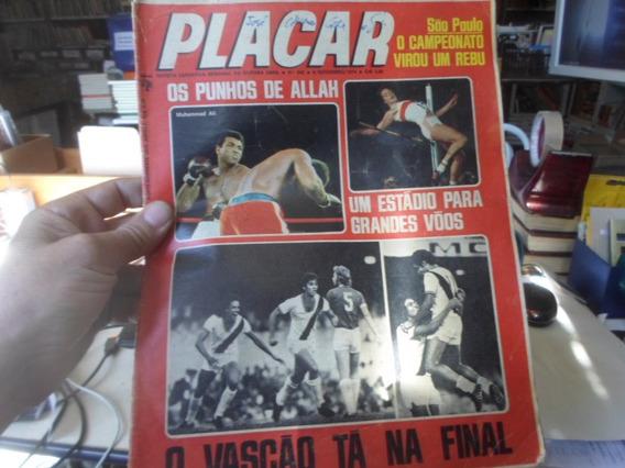 Revista Placar Nº 242 / Com Poster Do Mu Revista Placar Nº