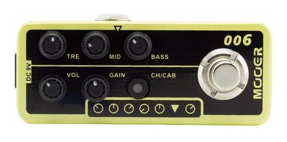 Pedal Pré-amp Mooer M006 Classic Deluxe Garant Nfe Envio 24h