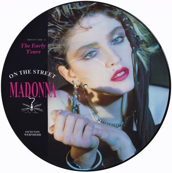 Madonna - On The Street Vinilo Picture Disc Made In Uk!!!