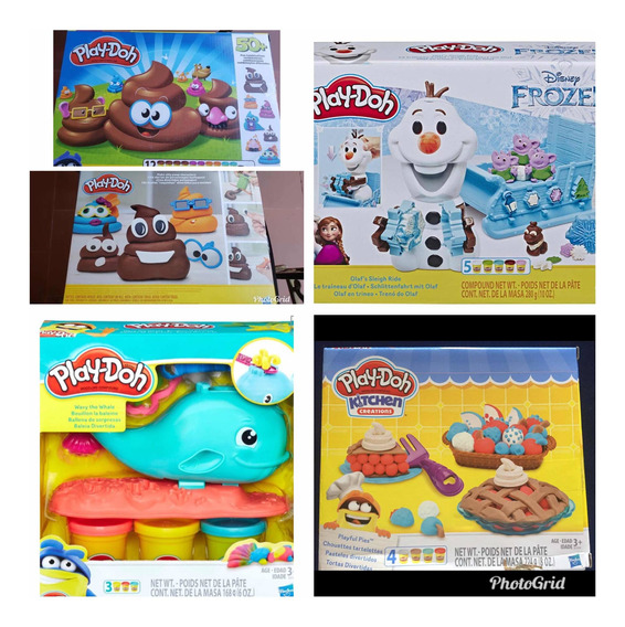 Play-doh Original Emojic Frozen