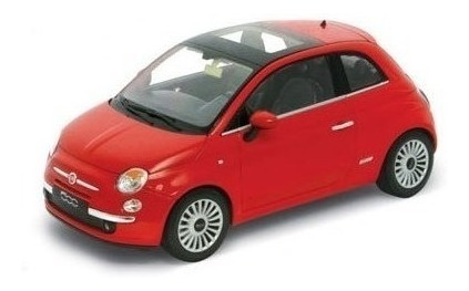 Auto 1:18 2007 Fiat 500 Welly Lionels 8012