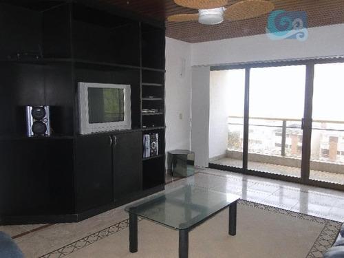 Imagem 1 de 30 de Apartamento À Venda - Condomínio Sorocotuba -  Guarujá - Ap4016