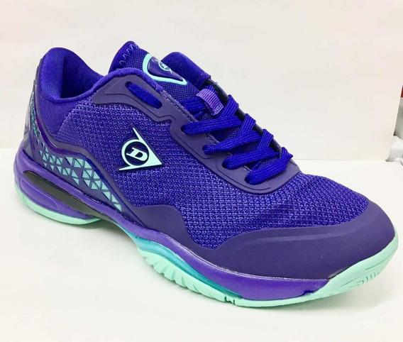 Zapatillas Dunlop Tenis Mujer Srixon 35 Al 40 Fucsia Violeta