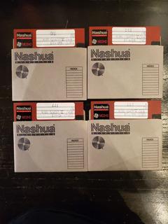 Lote X 20 - Diskette Nashua Md2hd - Usados