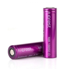 02 Baterias 18650 Efest Imr 3000 Mah 35a Vaper