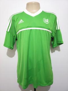 Camisa Futebol Oficial Wolfsburg Alemanha 2012 Home adidas G