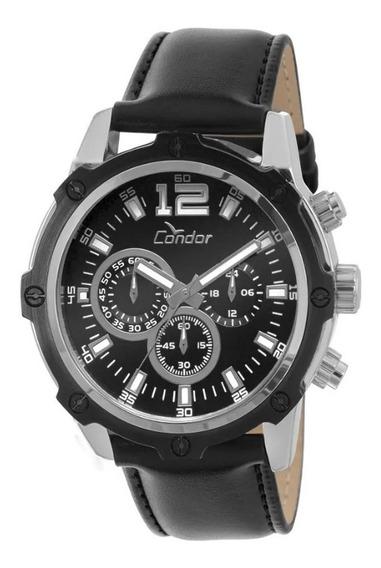 Relógio Condor Masculino Bicolor - Covd54ac/3p Analógico